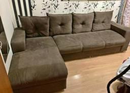 Sofa com Chaise R$ 600,00
