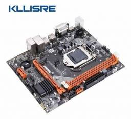 Título do anúncio: Kit Kllisre b75 1155 - 16gb - i5 3570k - Entrego e Aceito Cartôes