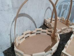Título do anúncio: Vendo cestas de madeira