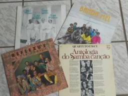 LPs - Conjuntos Popular Brasileiros 9Liquida: 4 LPs)