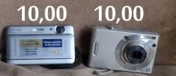 câmeras e flash lote todo