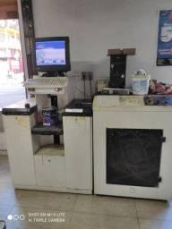 Máquina de tintas e misturador Korob