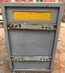 Caixa De Carta Para Grade Correios 23x11x35cm Número 04 Fercar