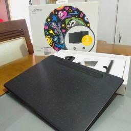 Mesa Digitalizadora Wacom Média Bluetooth Preta Intuos CTL6100WLK0
