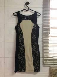 Vestido rendado La Voga Zeen Novo