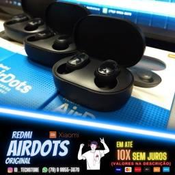 Título do anúncio: Fone Bluetooth XIAOMI Redmi Airdots! 100% ORIGINAL!