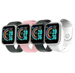 Smartwatch com monitor de pulso