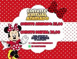 Convite Animado 35,00