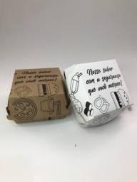 Embalagem para Hambúrguer