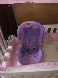 Bebê conforto galzerano e kit berço