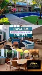 Casa 5 Suítes Porto Resort Busca Vida