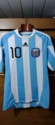 Camisa da Argentina copa do mundo de 2010 M