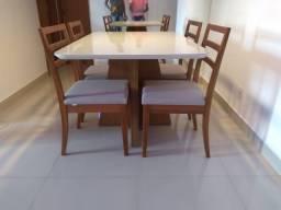 Título do anúncio: Mesa de madeira e acabamento laka