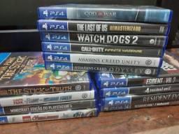 JOGOS DE PS4 PLAYSTATION 4 - LEIA DESCRIÇÃO
