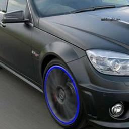 Faixas refletivas para rodas de carro ou moto