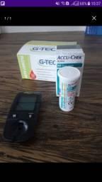 Medidor glicose completo