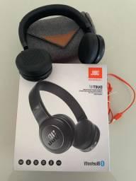 FONE SEM FIO SUPRA-AURICULAR / Headphone JBL duet