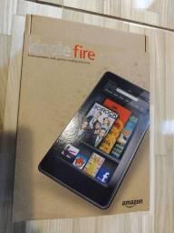 Kindle Faire semi novo e acessórios...