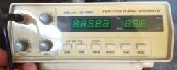 Gerador de funções GV 2002 Icel 0,2 hz à 2Mhz