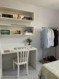 Apartamento mobiliado (1 suite + 2 quartos)