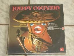 LPs - Happy Country e Outros Ritmos ( Liquida: 5 LPs)