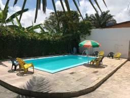 Promoção casa de praia com Piscina e Churrasqueira Enseada dos Corais para fds