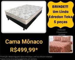 Frete grátis na compra da Box Casal Mônaco - Brinde Edredom 5 peças