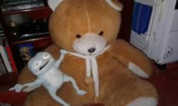 Combo urso de pelúcia e um sapinho crazy