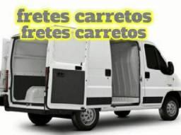 Fretes transporte com van furgão