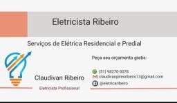 Eletricista ribeiro fone 982703078