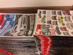 Lote Coleção 126 Revistas Quatro 4 Rodas