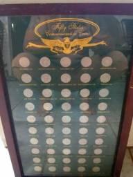 Coleção de moedas americana