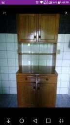 Armário de cozinha e rack