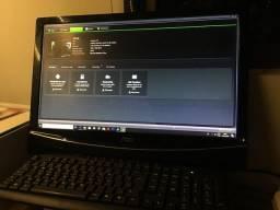 PC I5 com tela de 21 polegadas + placa de vídeo