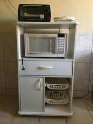 Porta forno/microondas + fruteira