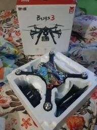Drone bugs 3 troco em monitor 24