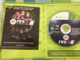 Vendo jogo FIFA18