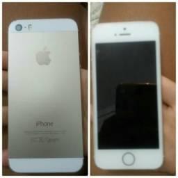 Vendo um iPhone 5z ou troco em um som de casa