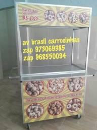 Carrinho de biscoitos em 12x sem juros mesmo