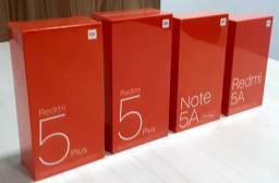 Xiaomi Redmi 5 Plus 4GB 64GB/Note 5A Prime 3GB 32GB/Redmi 5A 2GB 16GB a Pronta Entrega