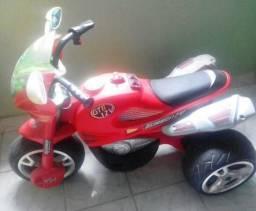 Moto Elétrica Infantil Turbo 12V