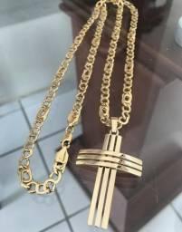 Top top cordão de ouro 8/750