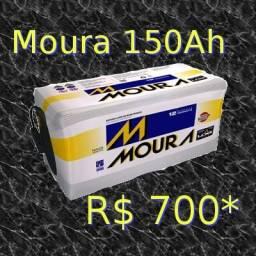Bateria Moura 150 Ah Amperes