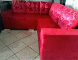 Esfofados em L, chaise e 3x2 lugares