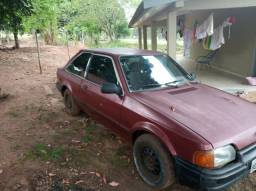 Vendo Escort GL 86 vermelho - 1986