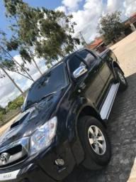 Hilux Diesel 4x4 2010 SRV 3.0 automática - 2010