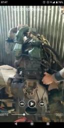 Motor e Câmbio Mercedes OM366