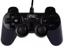 Controle Ps3 Pc Com Fio Usb Playstation 3 Joystick Raspberry Novos na Embalagem
