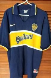 Camisa Boca Juniors 90 Tam G