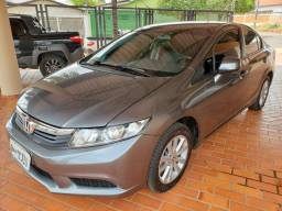 Honda Civic LXS 2013 (Auto + Couro) - 2013